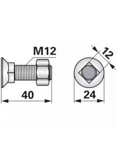 VIJAK 12X40 10.9 10/1