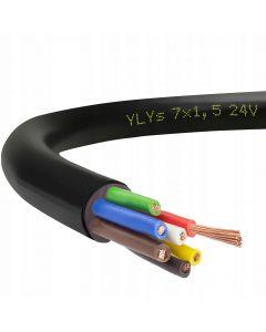 KABAL 7-ŽILNI  7x1,5 ( žice u boji)
