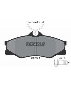 DISK PLOČICE VW TRANSPORTER T3 2097904 TEXTAR