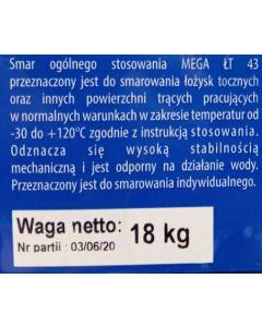 MAST MEGA LT-43 ZELENA 18/1